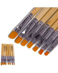 7 UV Gel Pinsel Set