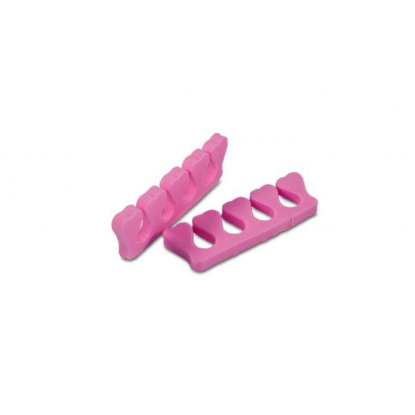 1 Paar Zehenspreizer Pink Schaumstoff