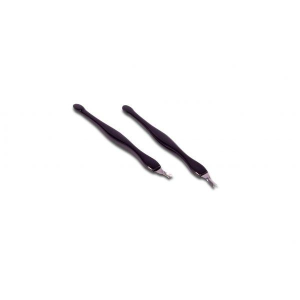 2 x V-Klinge Nagelhautentferner
