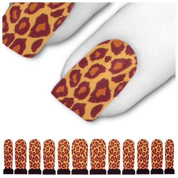 Tattoo Schwarz Gelb Orange Leopard Tabby C4-03