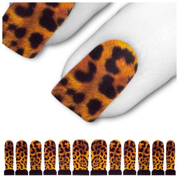 Tattoo Schwarz Gelb Orange Gepard Tiger C4-04