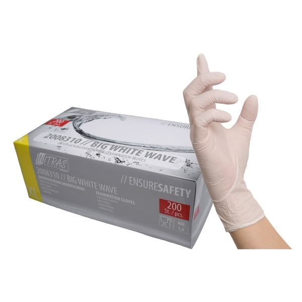 nitrylex PF Nitril Puderfrei Schwarz 100 XS