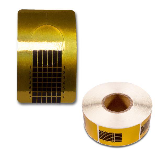 Modellierschablonen - Gold - 100 Stk.