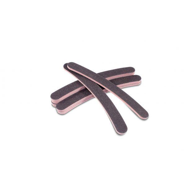 10 Nagelfeilen gebogen 100 / 180 schwarz