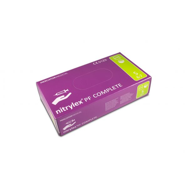 nitrylex PF Complete Nitril Puderfrei Lila 100 S