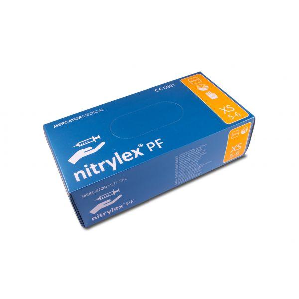 nitrylex PF Nitril Puderfrei Weiß 200 XS