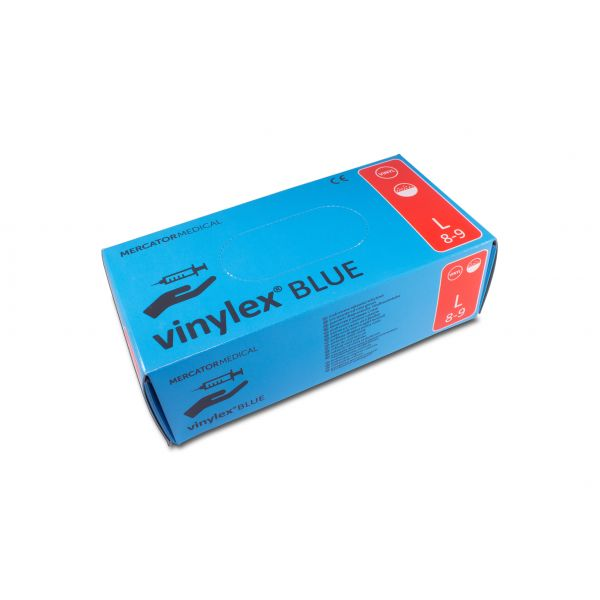 vinylex Blue Vinyl Gepudert Blau 100 L