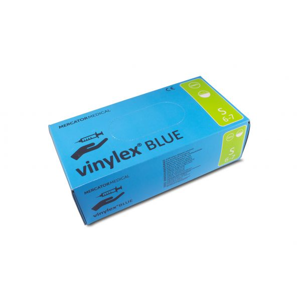 vinylex Blue Vinyl Gepudert Blau 100 S