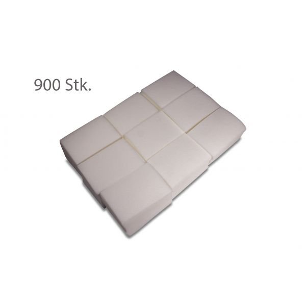 Wattepads - extrafein & fusselfrei - 900 Stk.
